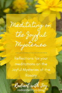 Meditating on the Joyful Mysteries