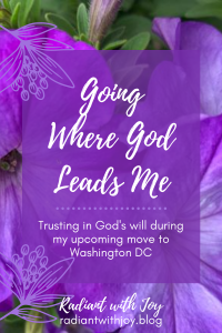Going Where God Leads ME