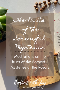 The Fruits of the Sorrowful Mysteries