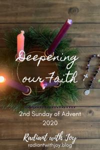 Deepening our Faith