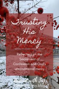 Trusting His Mercy