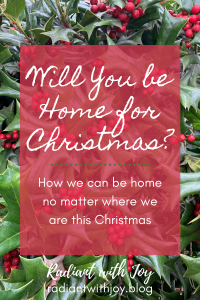 Will You Be Home For Christmas?