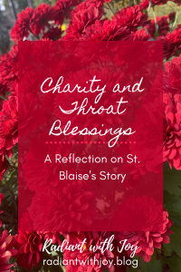 Charity and Throat Blessings