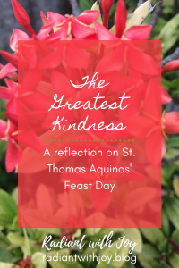 The Greatest Kindness