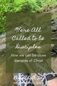 We're All Called to be Disciples